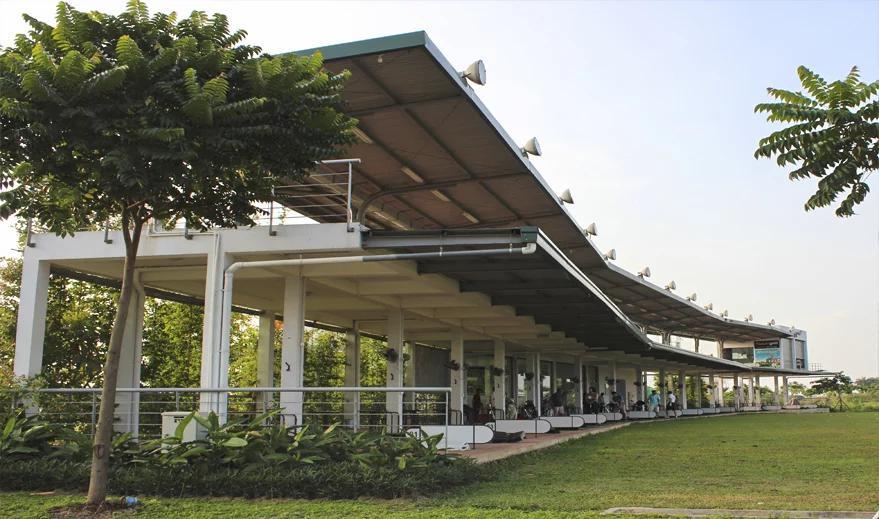 Sân tâm Golf bên trong dự án An Lạc Green Symphony, hiện đang hoạt động