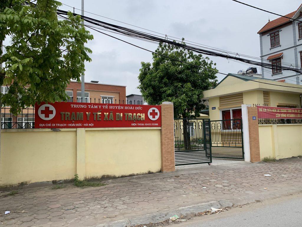 đất dịch vụ xã Di Trạch