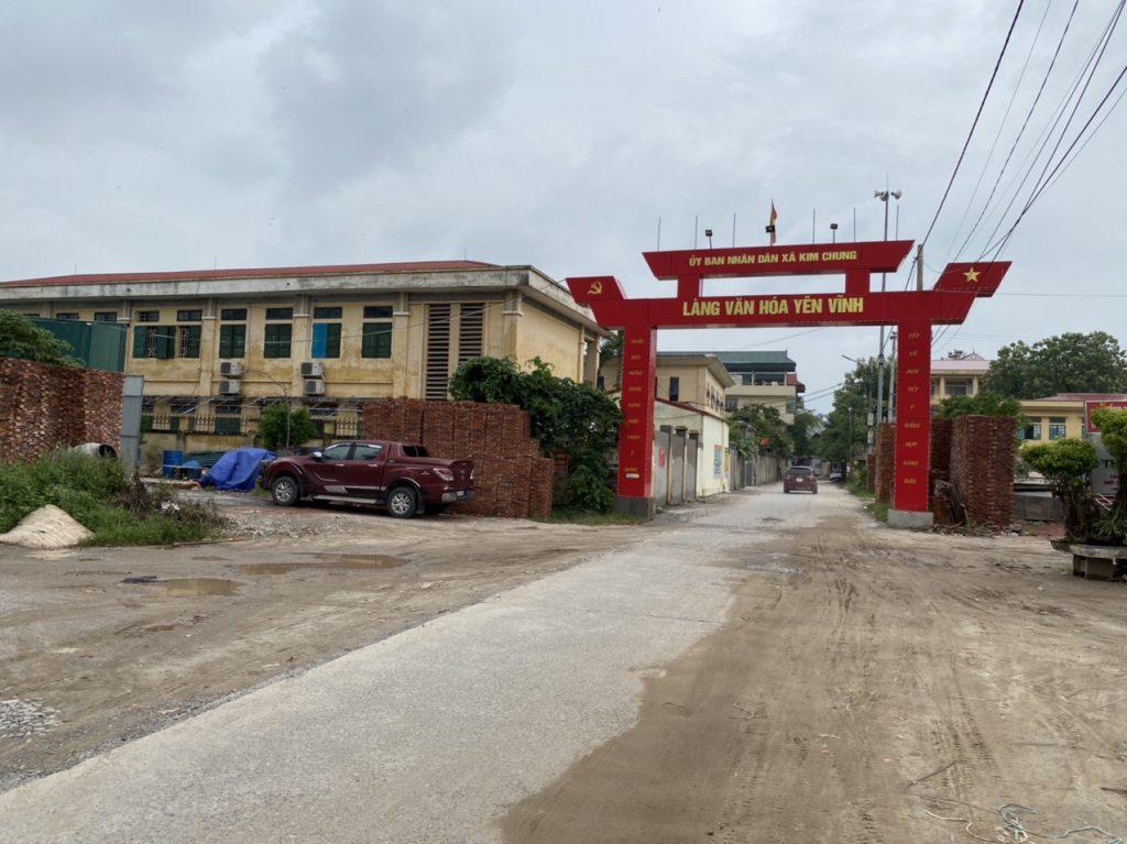 Cổng làng Yên Vĩnh kim chung
