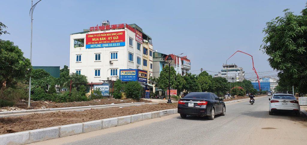 biển quảng cáo khu đô thị hinode garden park