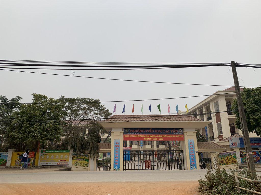 trường tiểu học xã Lại Yên