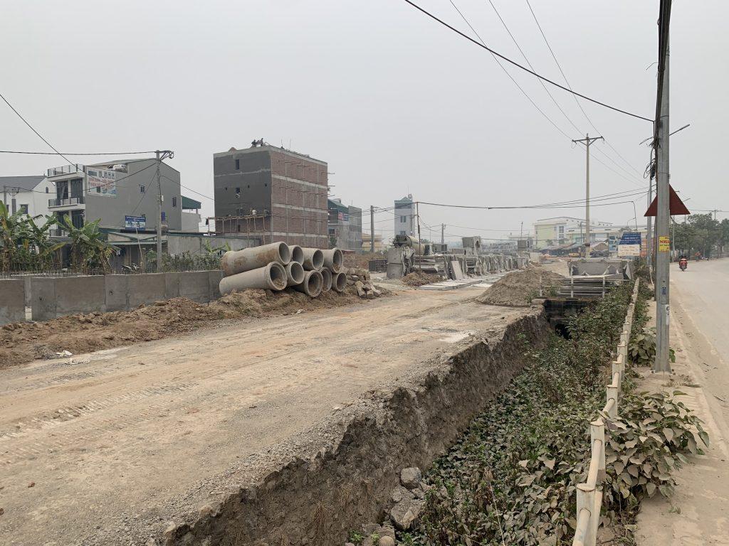 Tuyến đường 40 m nối lại yên với Vân Canh