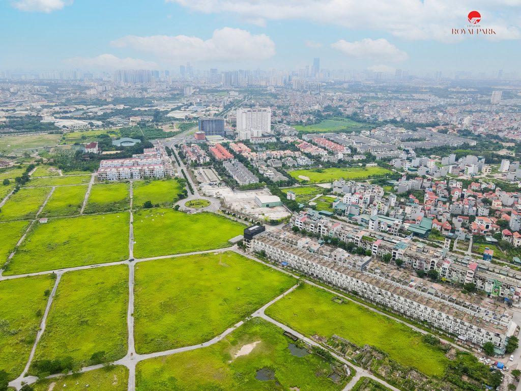 Đường Trịnh Văn Bô và khu đô thị Vân Canh Hud