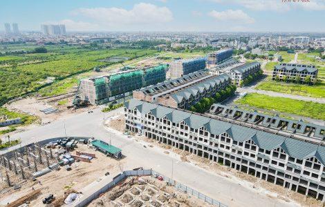 tiến độ xây dựn dự án hinode royal park