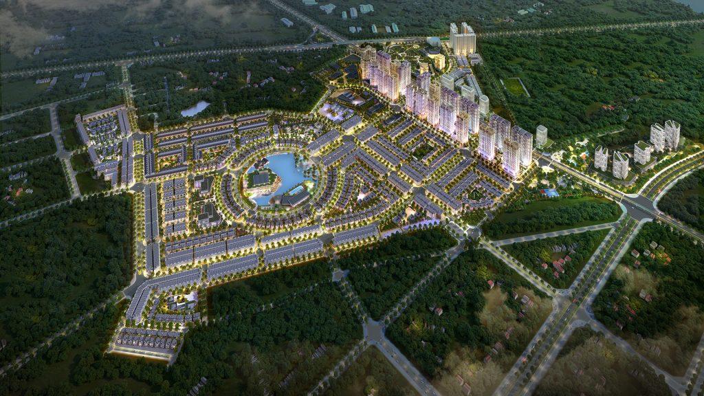 phối cảnh khu đô thị Kim Chung Di Trạch - Hinode Royal Park