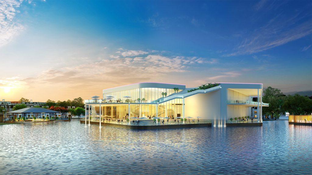 hồ trung tâm đô thị hinode royal park